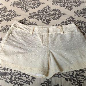 🌤Ann Taylor Signature  Textured Shorts